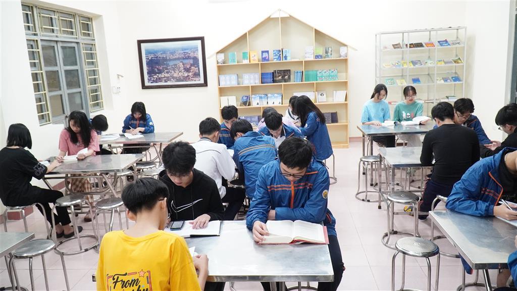 Xây dựng không gian đọc sách - tự học trong Khu nội trú