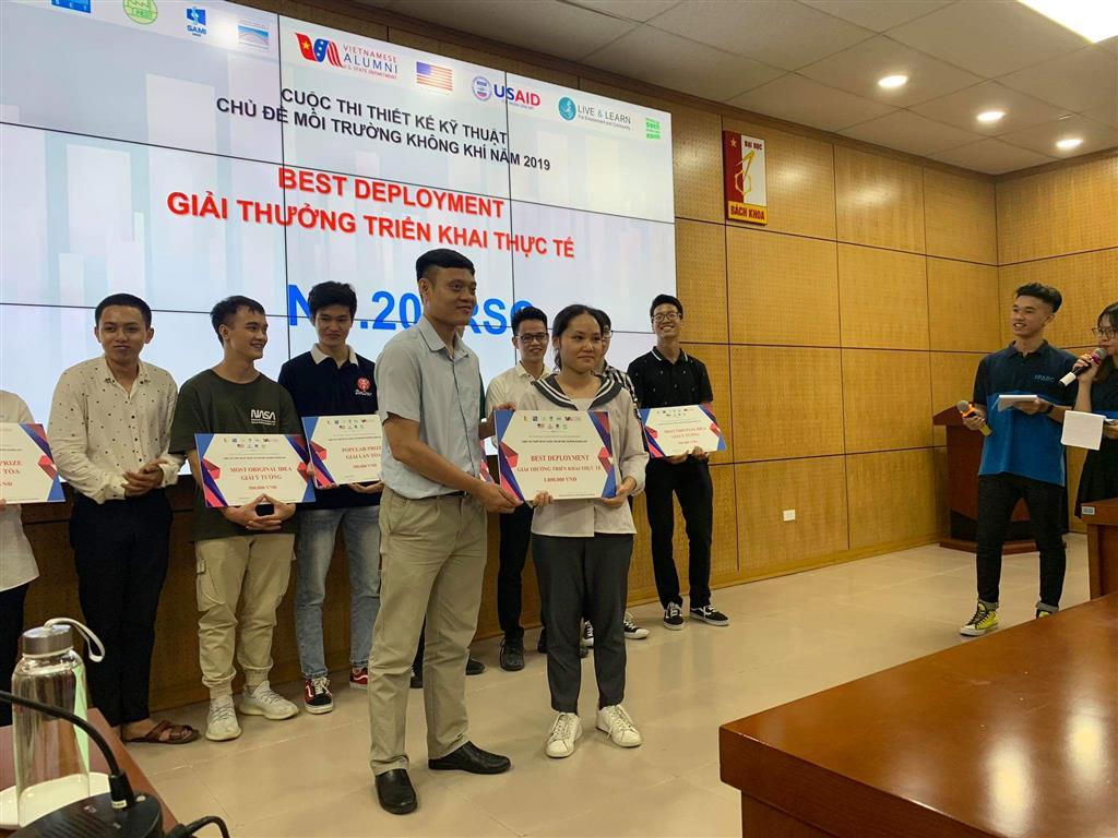 Học sinh trường THPT chuyên Lê Hồng Phong thử sức và đạt giải trên một sân chơi trí tuệ mới