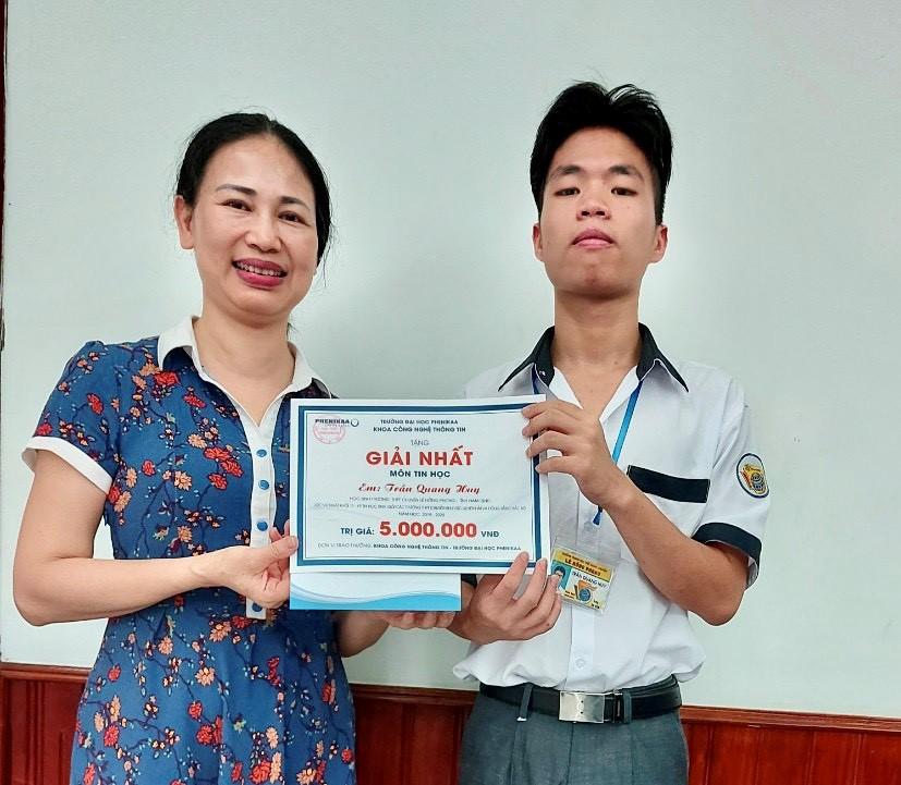 Kết quả đáng tự hào của học sinh khối Chuyên Tin trong Kỳ thi Online HSG Cụm các trường chuyên khu vực Duyên hải và Đồng bằng Bắc Bộ