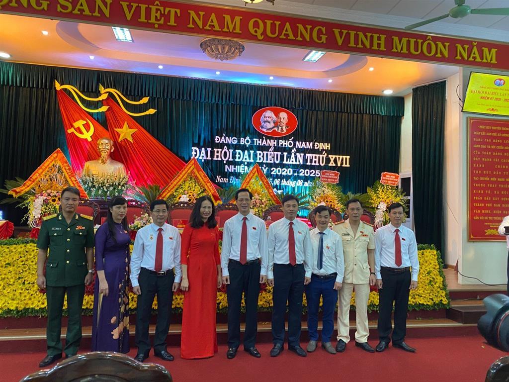Đại hội Đại biểu Đảng bộ thành phố Nam Định lần thứ XVII, nhiệm kỳ 2020-2025 đã thành công tốt đẹp