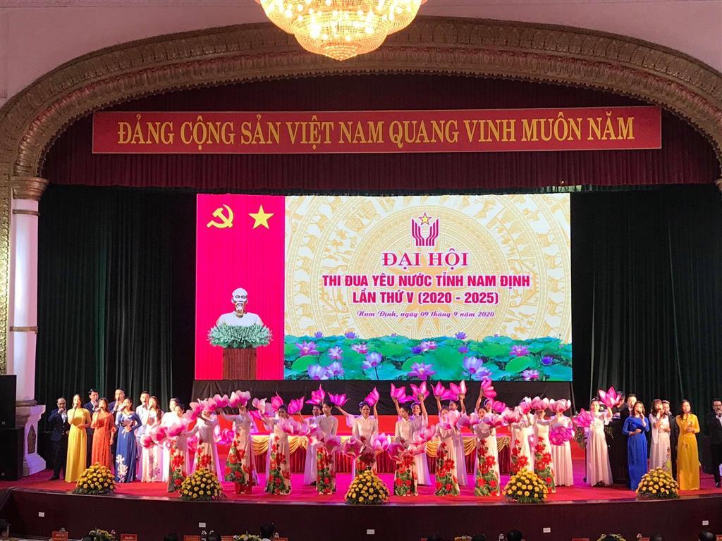 Khai mạc trọng thể đại hội thi đua yêu nước tỉnh Nam Định lần thứ V (2020-2025)