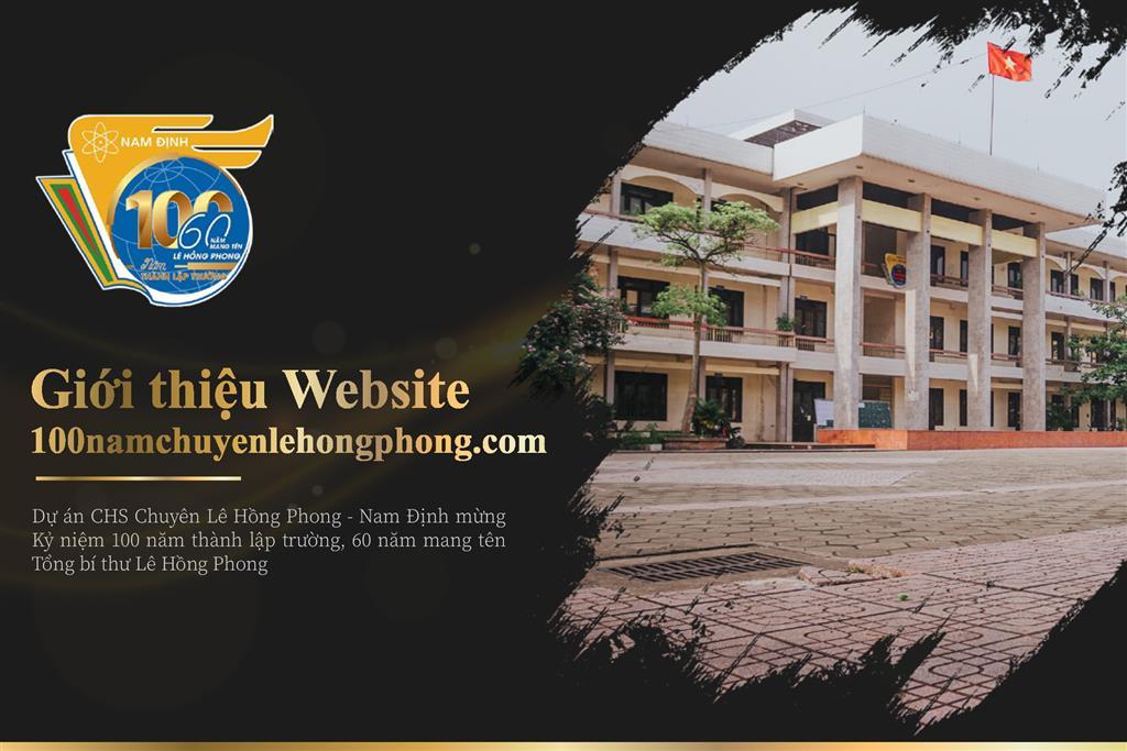 Giới thiệu website 100namchuyenlehongphong.com
