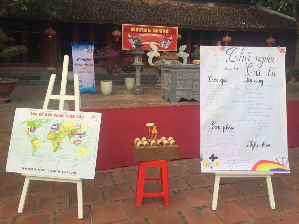 Dự án dạy học trải nghiệm của các thầy cô giáo tổ Xã hội trường THPT Ban Mai, Hà Đông, Hà Nội