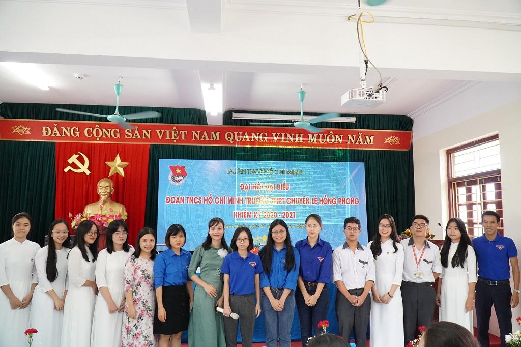 Đại hội Đoàn TNCS Hồ Chí Minh trường THPT chuyên Lê Hồng Phong nhiệm kì 2020 – 2021