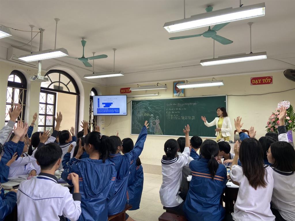 Hội thi Giáo viên dạy giỏi cấp trường năm học 2020 - 2021