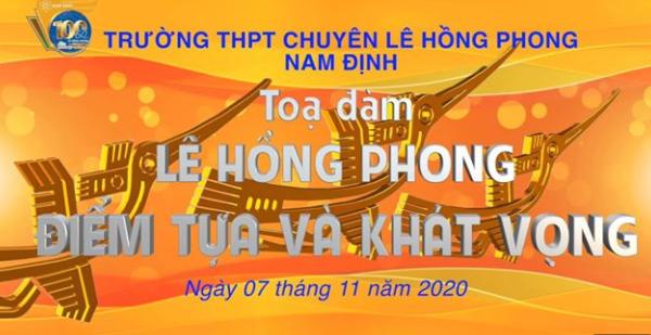 """Video trực tiếp buổi Tọa đàm 3 """"Lê Hồng Phong, Điểm tựa và Khát vọng"""""""
