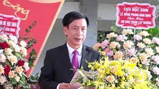 Phóng sự về Lễ Kỷ niệm 100 năm thành lập trường THPT chuyên Lê Hồng Phong và đón nhận Huân chương Lao động hạng Nhất