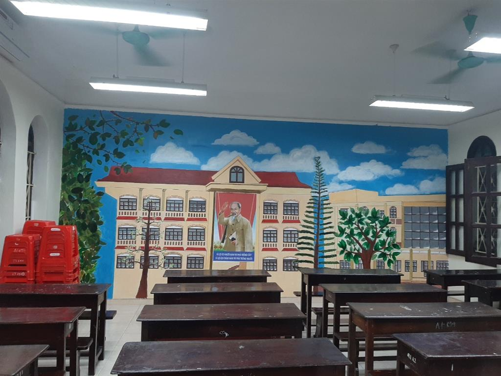 """Tổng kết hội thi """"Trang trí lớp học"""" năm học 2020- 2021"""