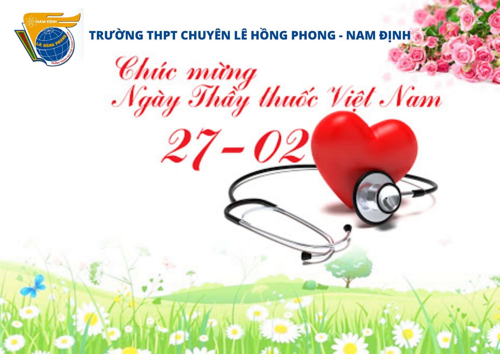 Chúc mừng ngày Thầy thuốc Việt Nam 27-02