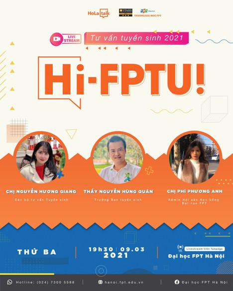 Tư vấn tuyển sinh Đại học FPT Hà Nội 2021