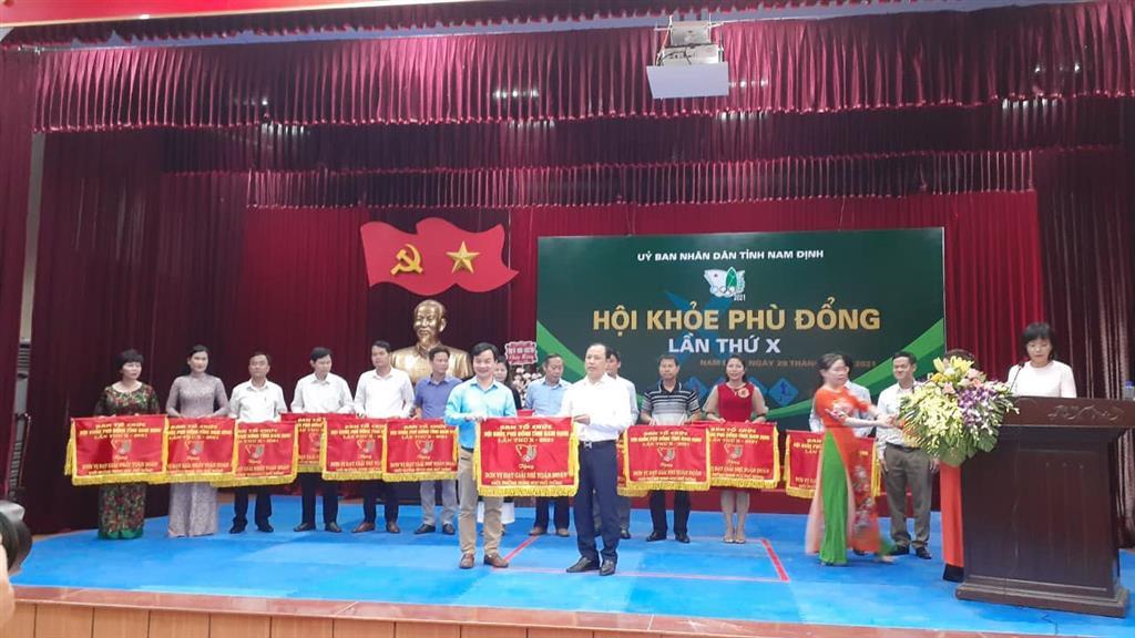 Trường THPT chuyên Lê Hồng Phong tham gia Hội khoẻ Phù Đổng (HKPĐ) toàn tỉnh lần thứ X năm 2021