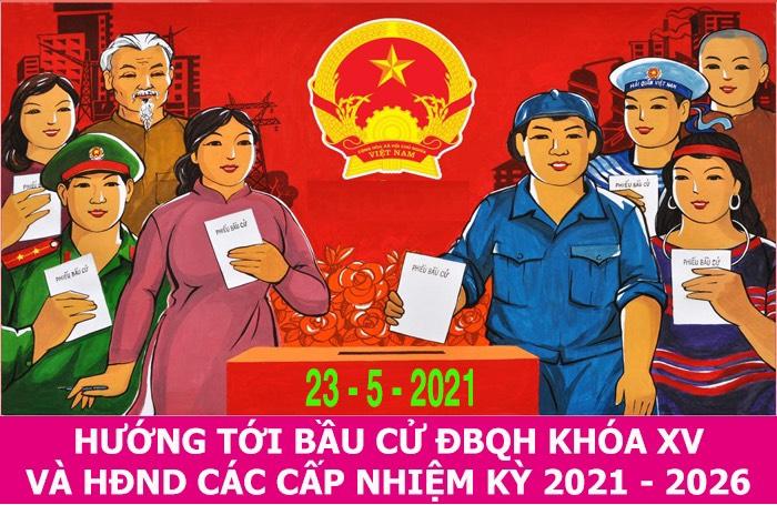 Bầu cử đại biểu Quốc hội và hội đồng nhân dân các cấp là quyền và nghĩa vụ của mỗi công dân.